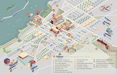 Burlington Hilton Map - Sylvia Yang