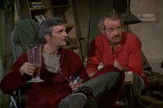 M*A*S*H Season 7 Episode 8: Major Ego, mash, 4077, 1978,Mike Farrell , Captain B.J. Hunnicut, Hawkeye Pierce , Captain Benjamin Franklin Pierce, Alan Alda,