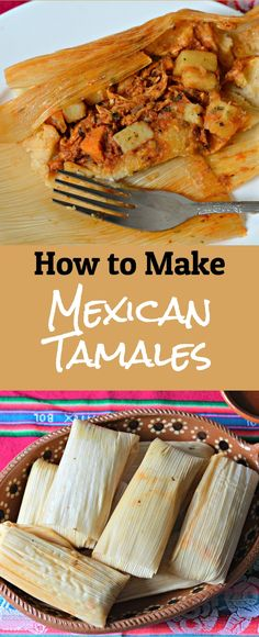 How to Make Authentic Mexican Tamales - My Latina Table When you finish reading this post, you will know how to make the most delicious, authentic Mexican Tamales, which will make you very popular. Mexican Appetizers, Mexican Dinner Recipes, Mexican Dishes, Mexican Desserts, Gourmet Desserts, Health Desserts, Plated Desserts, Churros, Easy Cooking