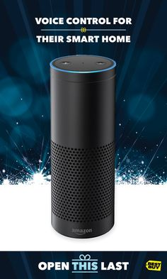 Wrap up Amazon Echo Plus at a great price. It's a simple way to start your smart home. With the built-in ZigBee hub you can directly set up and control compatible smart home devices. Plus, play music, ask questions, send messages and get information. Just ask Alexa. With 360° audio and far-field voice recognition, the lucky ones on your gift list will enjoy immersive sound and hands-free control. For Amazon Echo Plus and all the latest voice devices and tech gift ideas, go to Best Buy.