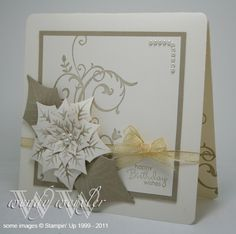 WMW Birthday Poinsettia by Wendybell - Cards and Paper Crafts at Splitcoaststampers