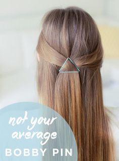 Learn some fun and creative ways to use your simple bobby pins to make an ordinary hairstyle - extraordinary!