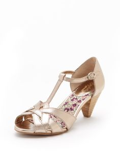Found My Way T-Strap Pump by Seychelles at Gilt - @Karen Jacot Beye these are only $59 at gilt and the heel isn't bad at all - 2.75 inches!