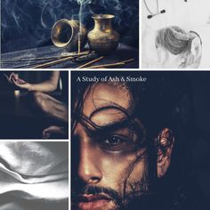Tranquil waters, boundless charity, the voice of reason--this is Ahmed. Meet this chill big brother figure in A Study of Ash & Smoke. Book Club Books, Book 1, New Books, Type Setting, Buy Prints, Mantle, Charity, Ash, Chill