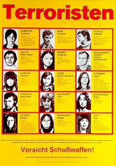 The Communist Terrorist Group the Baader-Meinhof Gang. They kept in contact with the Japanese Red Army Faction and the Weathermen in the USA. Wings Group, Black Berets, Rebel Fashion, Red Army, Guerrilla, World History, Health And Safety, Revolutionaries, Nostalgia