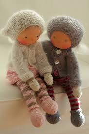 "Knitted Waldorf dolls 13"" by Peperuda dolls (Peperuda *Waldorf Inspired Dolls*)"