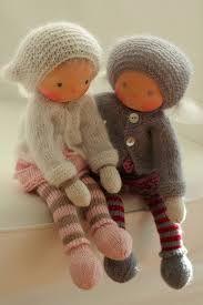 "Knitted Waldorf dolls 13"" by Peperuda dolls (Peperuda *Waldorf Inspired Dolls*)"
