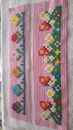 Crafts For Girls, Crafts To Make, Arts And Crafts, Cross Stitch Art, Cross Stitch Designs, Girl Scout Swap, Girl Scouts, Chicken Scratch Embroidery, American Girl Crafts