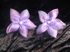 LavenderPink Organza Flower Bobby Pin by CraniumDecorAndMore, $4.00