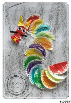DIY DRAGON - CUPCAKE DIY NOUVEL AN CHINOIS