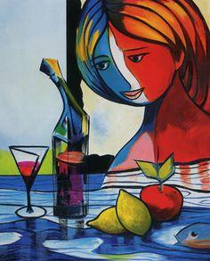 Cesar Prada - Red apple.