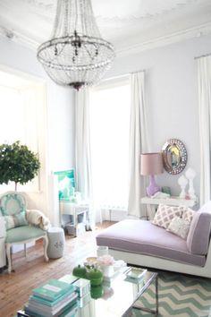 The Decorista-Domestic Bliss: needing. wanting. loving. chandelier magic