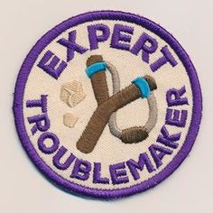 Adventure Merit Badges - Troublemaker (Patch)_image