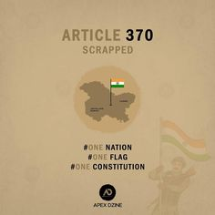 Article 370, India Map, Ads Creative, Indian Festivals, Advertising Design, Greeting Cards, Posters, Day, Promotional Design