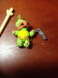 Cute baby ninja turtle