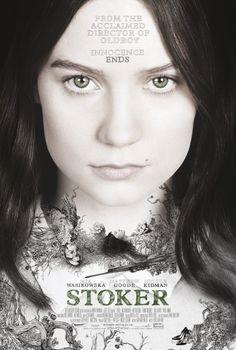STOKER poster starring Mia Wasikowska, Matthew Goode and Nicole Kidman