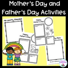Primary School Teacher, Teacher Pay Teachers, Multicultural Classroom, Father's Day Activities, Mother And Father, Fathers Day, Student, Children, Life
