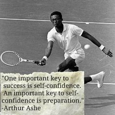 Arthur Ashe, tennis quote , inspirational and motivational life quotes The concept of sport is Motivational Quotes For Life, Great Quotes, Quotes To Live By, Life Quotes, Funny Quotes, Inspirational Quotes, Daily Quotes, Best Tennis Rackets, Beckett Quotes