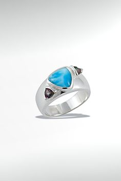 Larimarket - MarahLago Spectral Collection Larimar Ring with Mystic Topaz, $240.00 (http://www.larimarket.com/marahlago-spectral-collection-larimar-ring-with-mystic-topaz/)