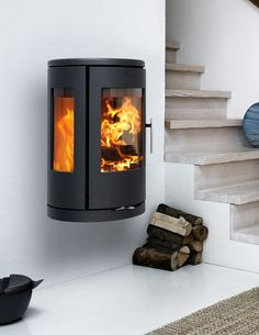 We offer a wide selection of wood, pellet, and gas stoves for all of your heating needs. We also carry ductless heating and cooling systems. Call us today! Wood Stove Wall, Stove Fireplace, Fireplace Ideas, Morso Stoves, Wood Stoves, Morso Wood Stove, Ductless Heating And Cooling, Modern Wood Burning Stoves, Oil Stove