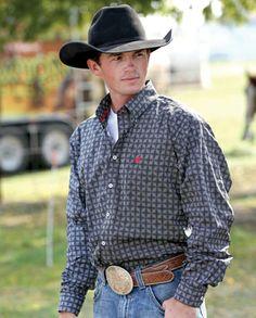 Cinch® Men's Dale Print Shirt :: Fort Western Online