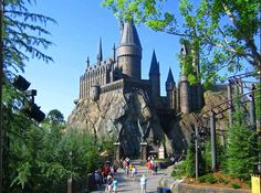 The Wizarding World of Harry Potter!  Had a great time!  I turned into a big kid and loved it.
