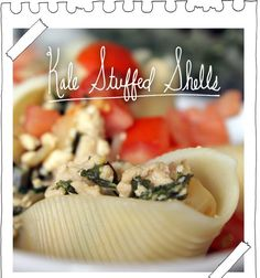 The Vegan Stoner: Kale Stuffed Shells
