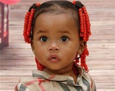 Princesse afro / baby girl hairstyle