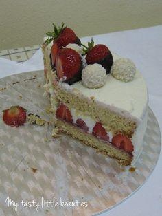 My tasty little beauties - Kuchen geht immer!: Erdbeer-Kokos-Torte