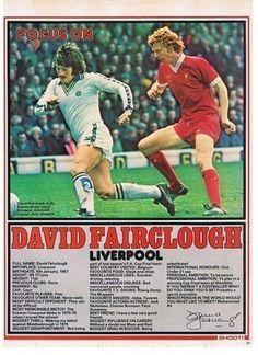 SHOOT Focus Liverpool DAVID FAIRCLOUGH Football Odds, Football Icon, Uk Football, Football Shirts, Football Players, Liverpool Fans, Liverpool Football Club, Belgium Team, British Football