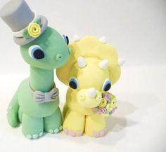 dinosaur wedding cake topper - Google Search