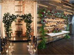 winter wedding decor ideas / http://www.deerpearlflowers.com/winter-wedding-ideas/