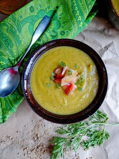 Roasted Carrot & Sweet Dumpling Squash Bisque