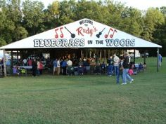 Rudy's Bluegrass in the Woods is as comfortable and cozy a site for a bluegrass festival as you will find in the South. Located in rural Anderson, SC, Rudy's was established by the late Rudy Lowe. It is now owned and managed by his son, Stephen Lowe, a great friend to bluegrass music. The site