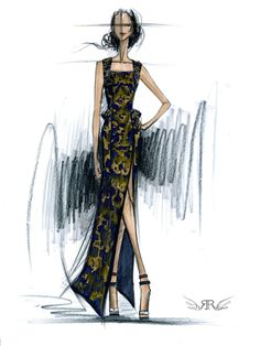 Rachel Roy Sketch| Be Inspirational❥|Mz. Manerz: Being well dressed is a beautiful form of confidence, happiness & politeness