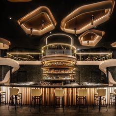KOR Taipei by Etai Space Design Office in Photography:Dirk Heindoerfer Interior Design Dubai, Restaurant Interior Design, Modern Interior Design, Interior Design Inspiration, Design Ideas, Design Styles, Design Design, Lounge Design, Bar Lounge