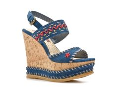 Two Lips Clever Wedge Sandal  Ok these are awesome