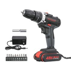 1 x Electric Drill. Cordless Impact Drill, Electrical Tools, Garden Items, Power Tools, Ebay, Electric Power Tools