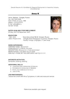 [ House Attendant Sample Resume Simple Cover Letter Samples Layout Agenda Paid Full Housekeeping Get ] - Best Free Home Design Idea & Inspiration Resume Summary Examples, Resume Cover Letter Examples, Resume Template Examples, Best Resume Template, Cover Letter For Resume, Simple Cover Letter, Cover Letter Sample, Job Resume Format, Sample Resume