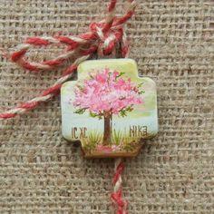 Martisoare pictate manual Christmas Ornaments, Holiday Decor, Handmade, Home Decor, Manual, March, Fimo, Romania, Love