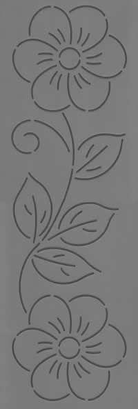 Paulines Patchwork Ltd Stencil 68 Applique Patterns, Applique Designs, Beading Patterns, Quilt Patterns, Embroidery Designs, Quilting Stencils, Quilting Templates, Quilting Designs, Beaded Embroidery