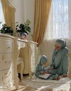 Twin Baby Photos, Cute Baby Girl Pictures, Cute Muslim Couples, Muslim Girls, Mom Dad Baby, Mom And Dad, Niqab, Beautiful Hijab Girl, Baby Tumblr