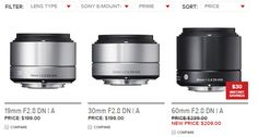 When Will Sigma Offer their Art Lenses in Sony E-Mount? - http://blog.planet5d.com/2015/12/when-will-sigma-offer-their-art-lenses-in-sony-e-mount/