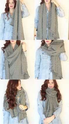 There's no need to sacrifice your Signature Style to stay warm this winter with these 3 ways to tie a scarf. Look fashionable and cozy with these versatile and easy-to-achieve ideas!