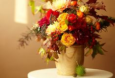 fall arrangement how-to