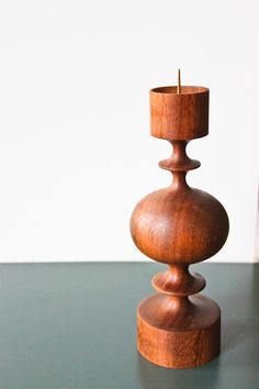 wooden candle holder from Erzgebirge/ Germany DDR DESIGN