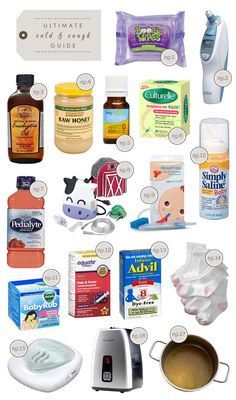 ultimate guide to treating a child's cold and cough-except the Vicks-that stuff is not good for ya-just use diluted but high/medicinal quality essential oils (found in any health food stores) Sick Baby, Sick Kids, Sick Toddler, Toddler With A Cold, Toddler Colds, Baby Health, Kids Health, Home Remedies, Remedies For Baby Cough