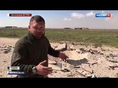 Repórter russo mostra base aérea síria atacada pelos Estados Unidos