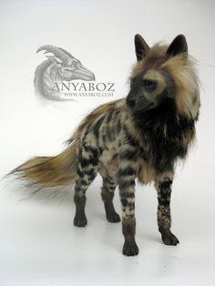 Striped Hyena Room Gaurdian by AnyaBoz.deviantart.com on @DeviantArt
