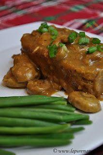 Seitan Roast... Vegan Meat and Potatoes